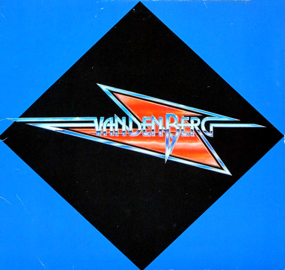 """High Quality Photo of Album Front Cover """"VANDENBERG - S/T Self-Titled"""""""