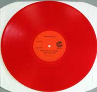WRATHCHILD - Stackheel Strutt  is an EP pressed on red coloured vinyl