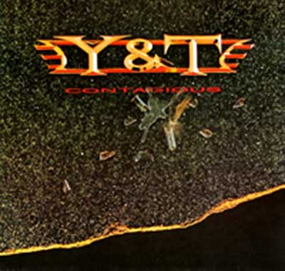 "Thumbnail Of  Y&T - Contagious ( 12"" LP ) album front cover"
