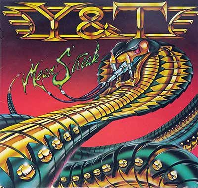"Thumbnail Of  Y&T - Mean Streak ( 12"" LP ) album front cover"