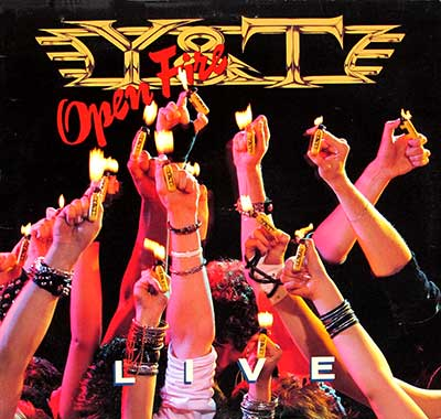 "Thumbnail Of  Y&T - Open Fire Live ( 12"" LP ) album front cover"