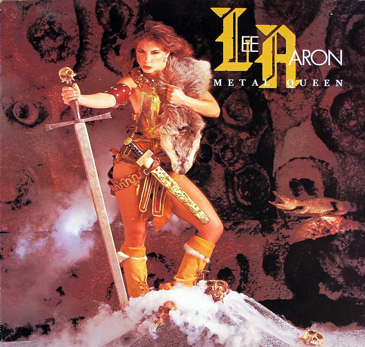 large photo of the album front cover of: LEE AARON Metal Queen ROADRUNNER
