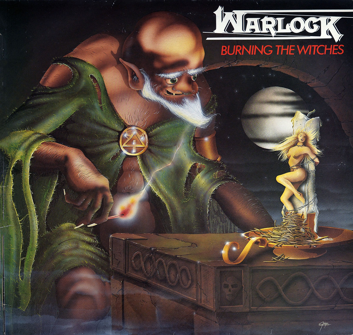 High Resolution Photo #10 WARLOCK Burning The Witches https://vinyl-records.nl