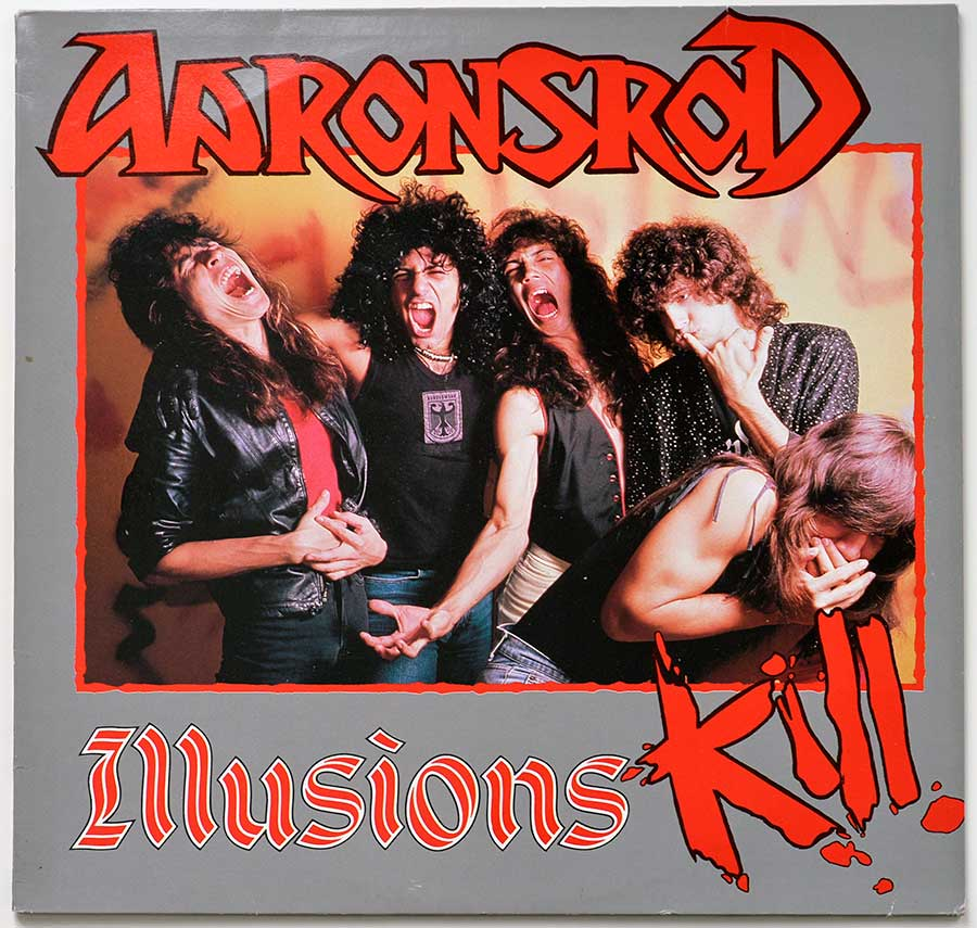 High Resolution Photo Album Front Cover of AARONSROD - Illusions Kill https://vinyl-records.nl