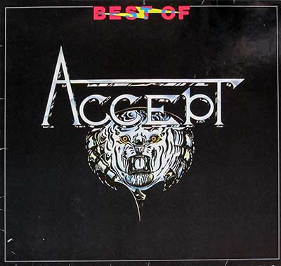 "Thumbnail of ACCEPT - Best of Accept Orig Brain 12"" Vinyl LP Album album front cover"