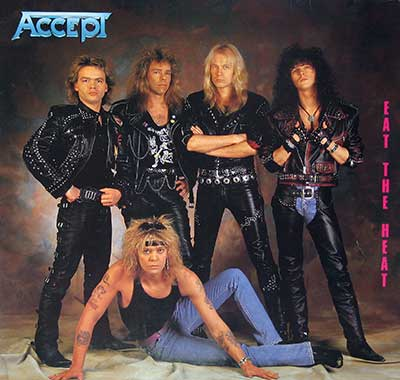 "Thumbnail of ACCEPT - Eat the Heat  12"" Vinyl LP Album  album front cover"