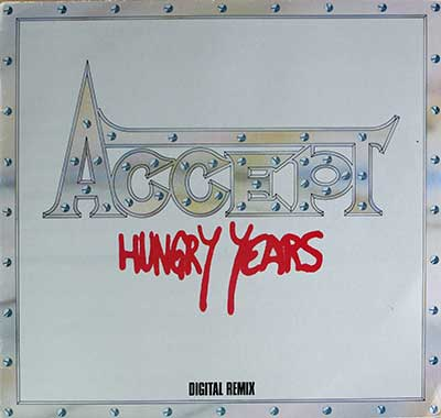 "Thumbnail of ACCEPT - Hungry Years Digital Remix UK  12"" Vinyl LP Album album front cover"