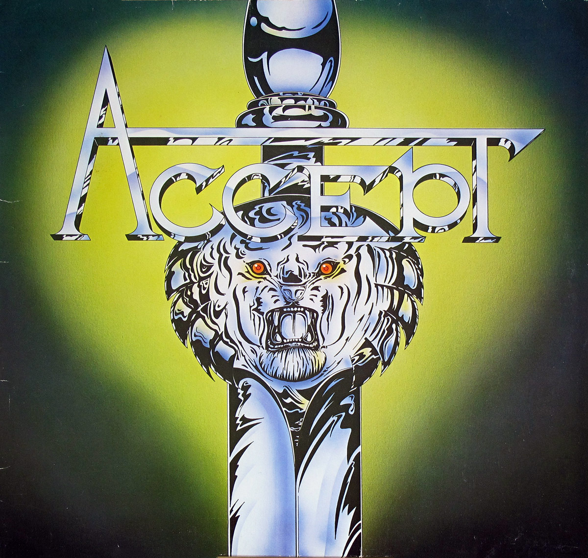 Album Front Cover Photo of ACCEPT - I'm A Rebel ( title-less )