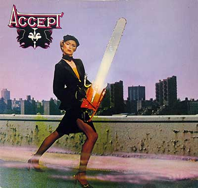 "Thumbnail of ACCEPT - Accept ( self-titled ) 12"" Vinyl LP Album album front cover"