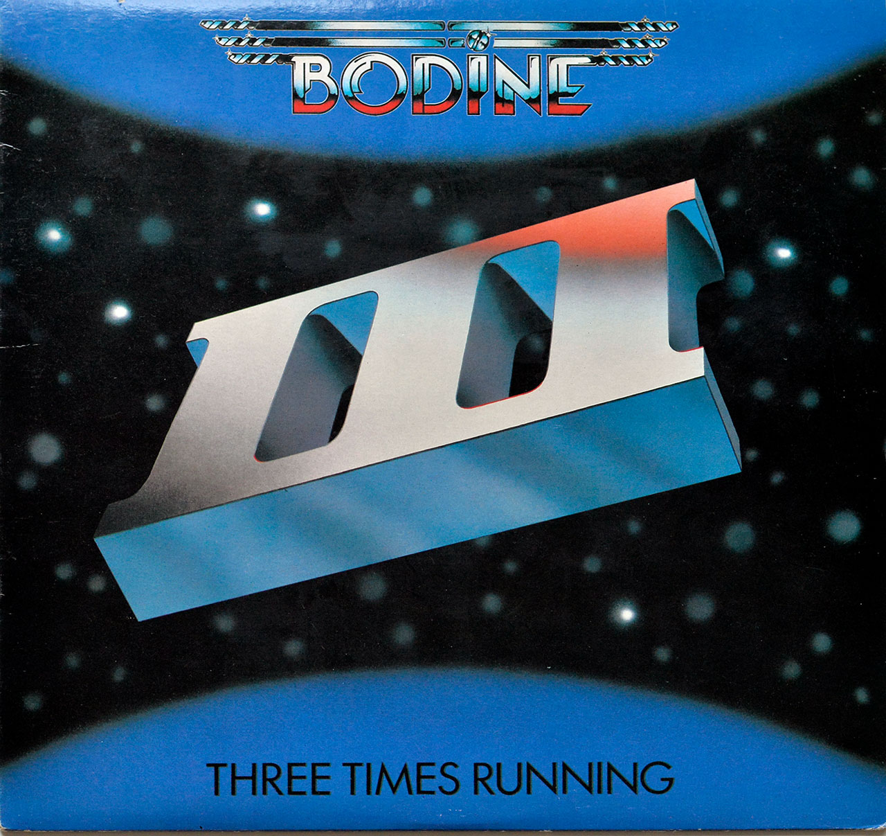 Album Front Cover Photo of BODINE - Three Times Running