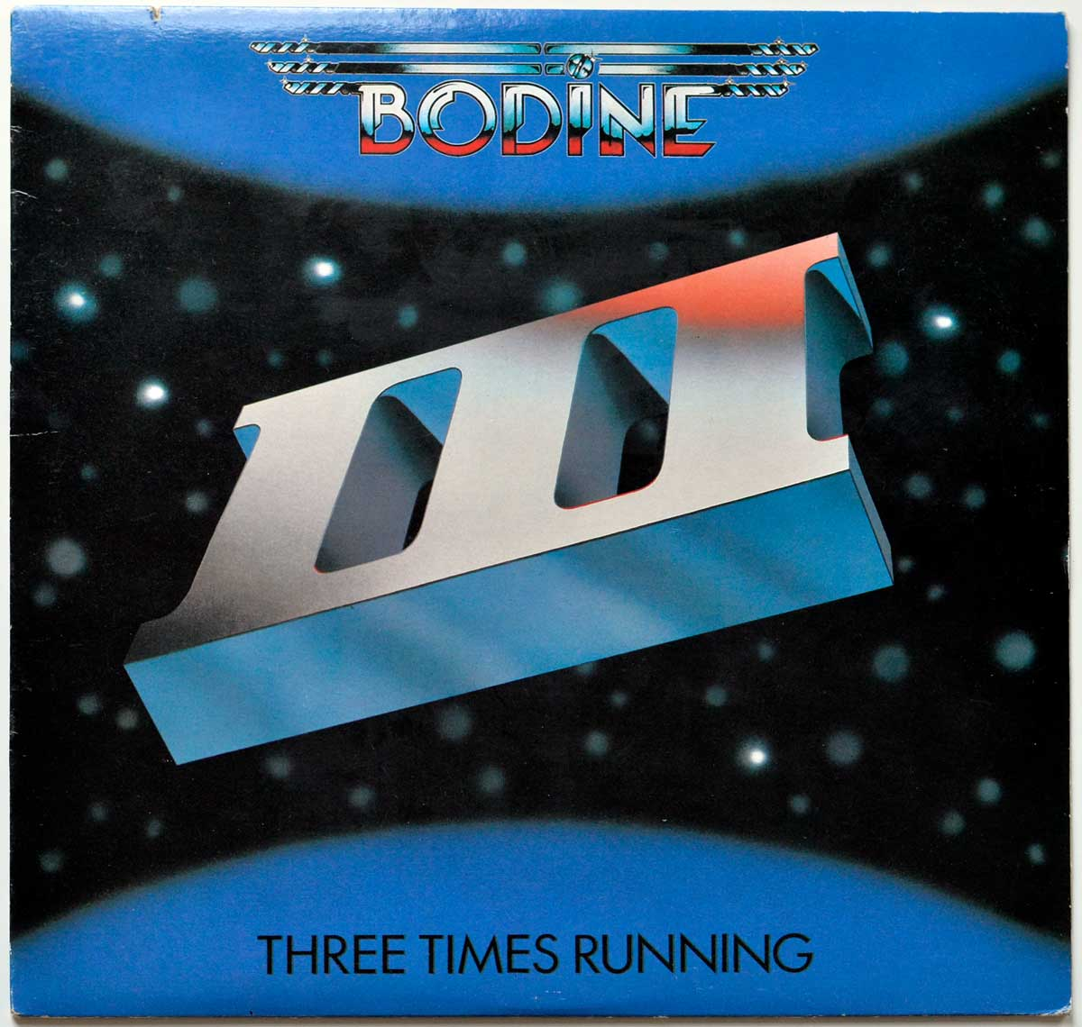 Front Cover Photo Of BODINE - Three Times Running