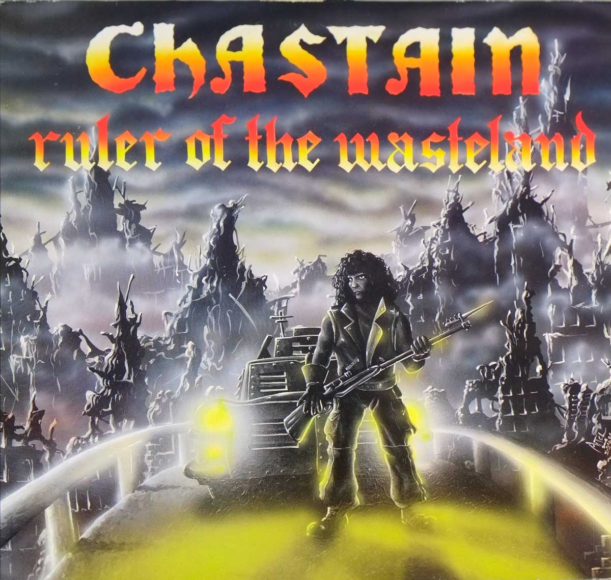large photo of the album front cover of: CHASTAIN - Ruler Of The Wasteland