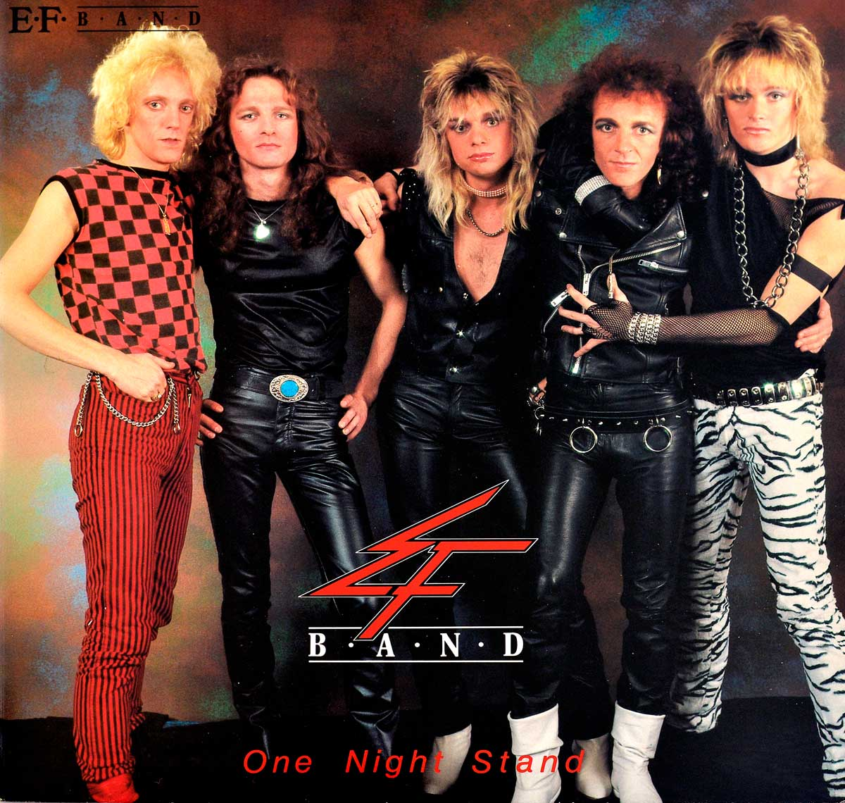Album Front Cover Photo of E.F. Band - One Night Stand Andy LaRocque King DiamonD Skull
