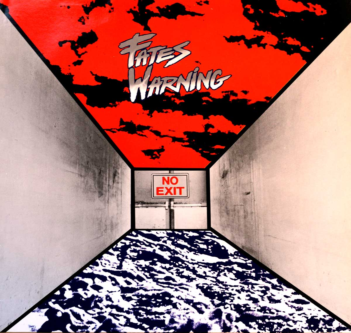 large photo of the album front cover of: FATES WARNING - No Exit METAL BLADE