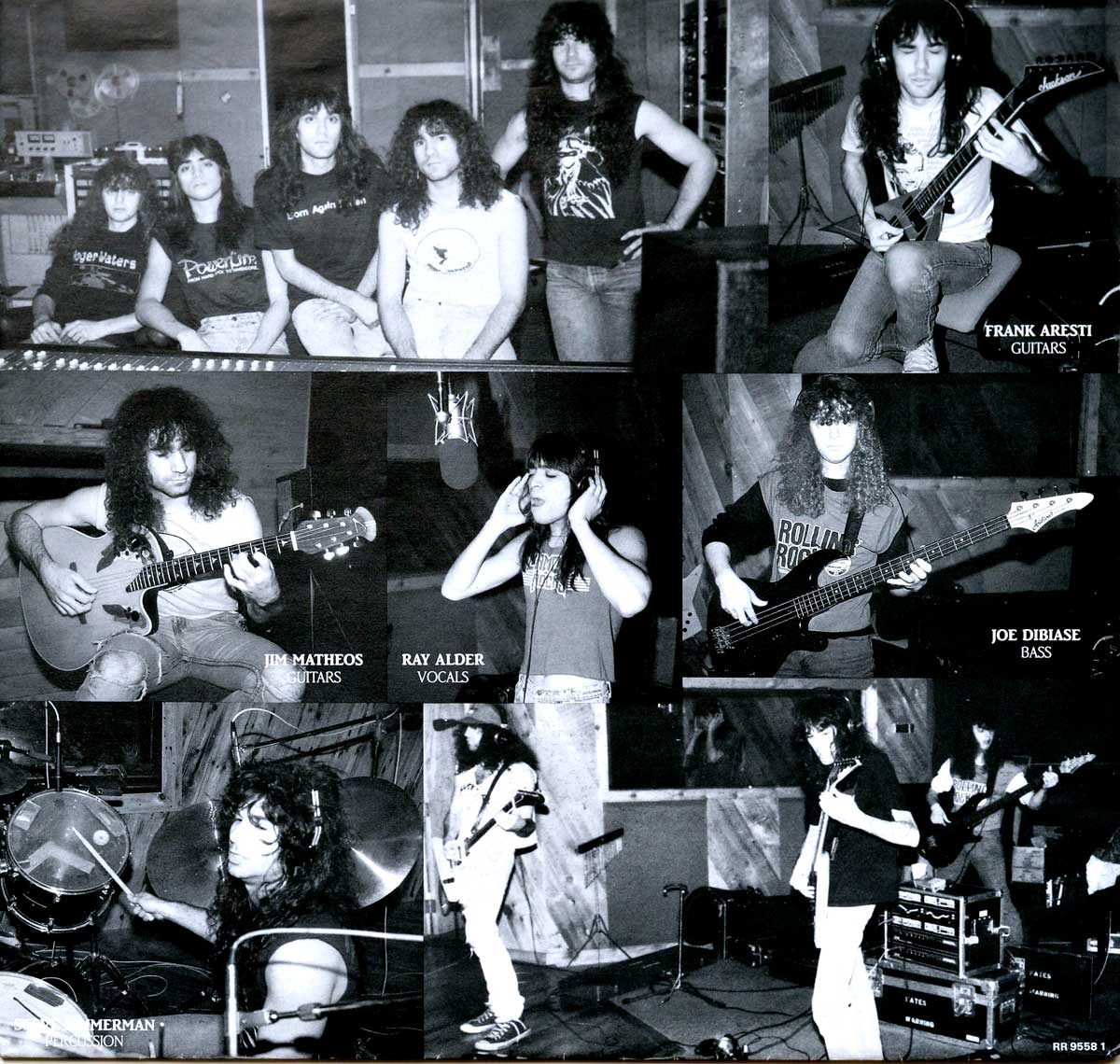 High Resolution Photo  of the  Original Custom Inner Sleeve (OIS) #1 of FATES WARNING No Exit https://vinyl-records.nl