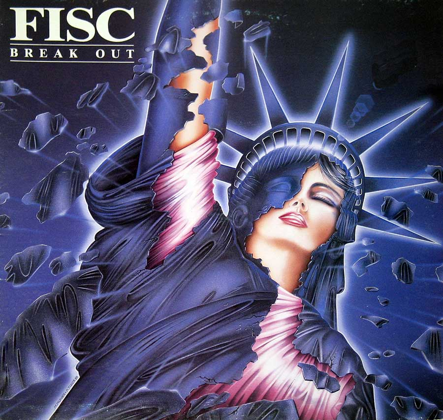 large photo of the album front cover of: FISC - Break Out