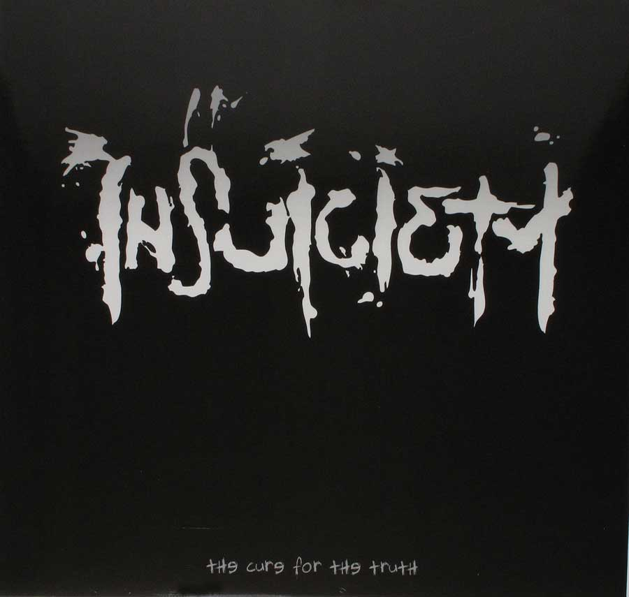 "INSUICIETY - The Cure Of The Truth Gimmick Gatefold Cover 12"" Vinyl LP Album custom inner sleeve"