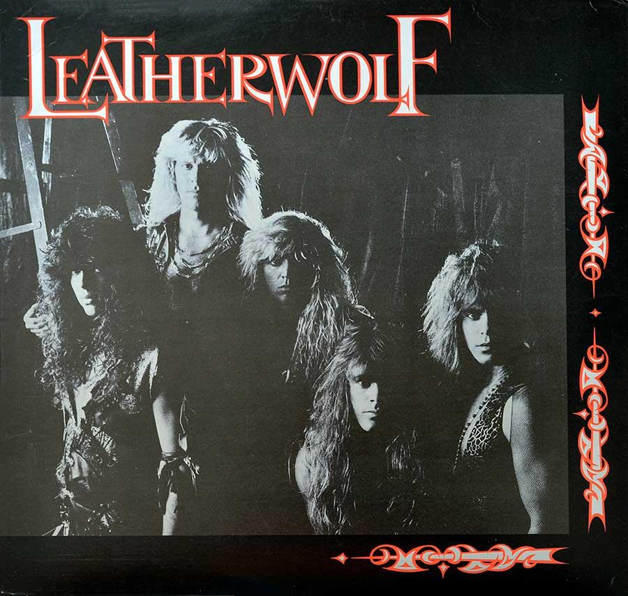 "LEATHERWOLF - Self-Titled 1987 12"" LP ALBUM VINYL front cover https://vinyl-records.nl"