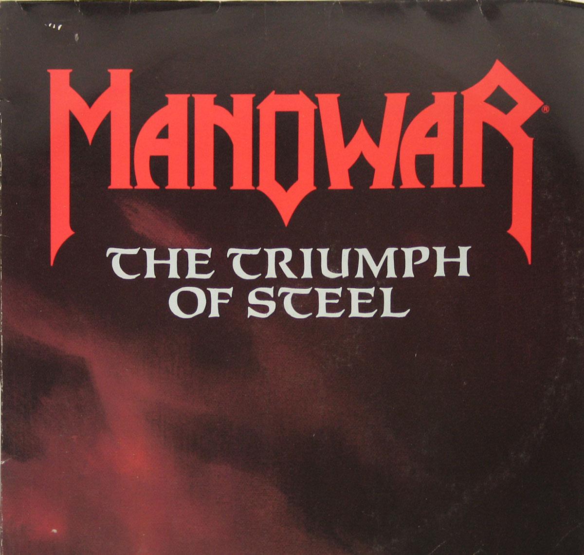 High Resolution Photo of MANOWAR - The Triumph of Steel lp