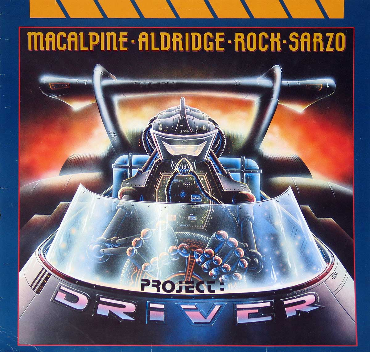 High Resolution Photo Album Front Cover of M.A.R.S - Project Driver https://vinyl-records.nl