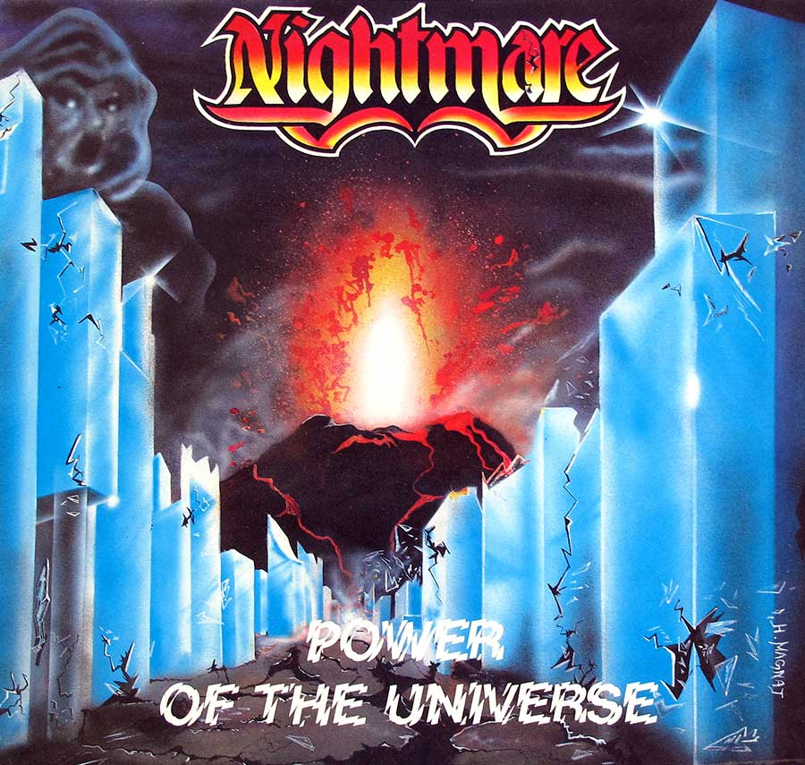 Front Cover Photo Of NIGHTMARE - Power of the Universe