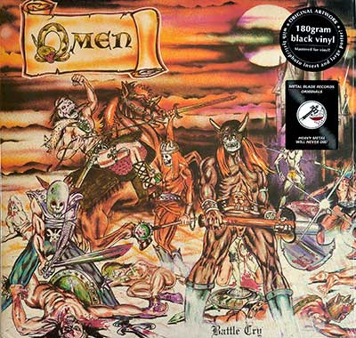 "OMEN - Battle Cry (Metal Blade Records)  12"" LP"