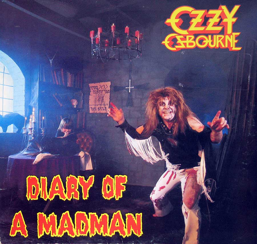 High Resolution Photo of Ozzy Osbourne Diary of a Madman