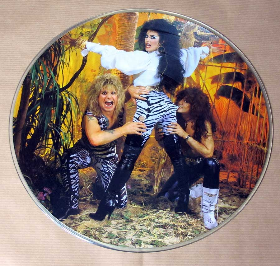 High Resolution Photo of OZZY OSBOURNE ULTIMATE LIVE OZZY LIMITED PICTURE DISC EDITION