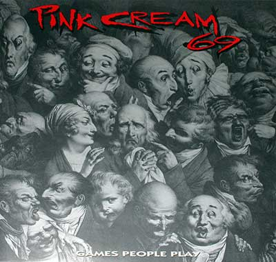 Thumbnail Of  PINK CREAM 69 - Games People Play  album front cover