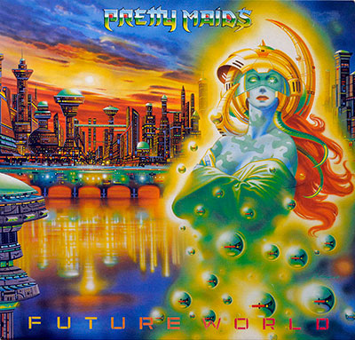 Thumbnail Of  PRETTY MAIDS - Future World ( 1987 , Europe ) album front cover