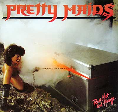 Thumbnail Of  PRETTY MAIDS - Red, Hot and Heavy  album front cover