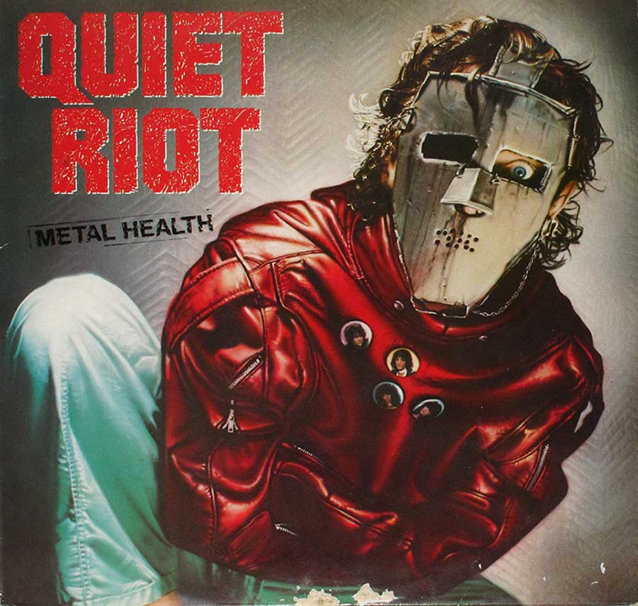 Front cover Photo of Quiet Riot  Metal Health