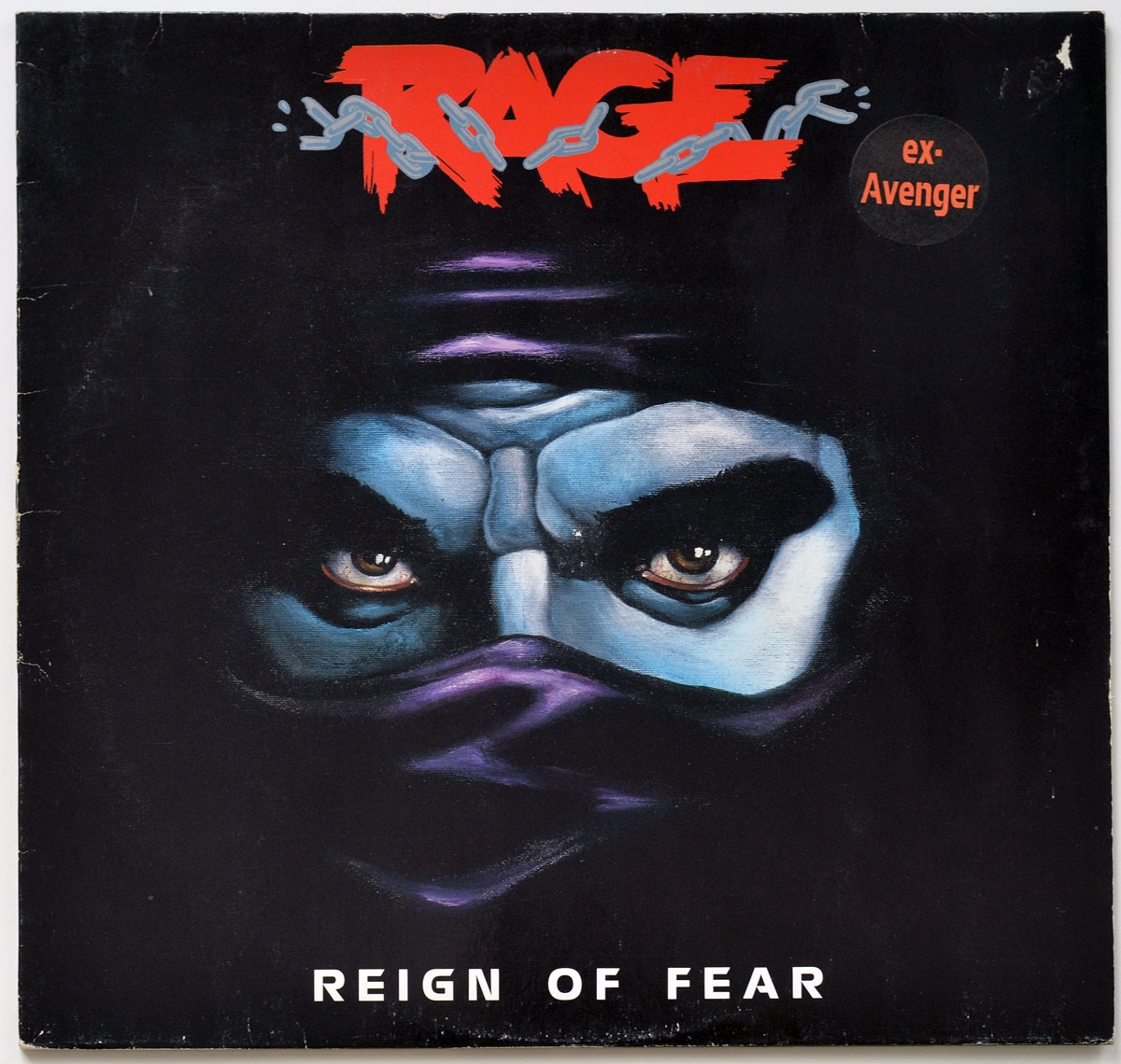 High Resolution Photo #10 RAGE - Reign of Fear https://vinyl-records.nl