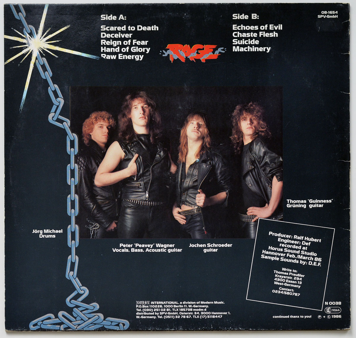High Resolution Photo #11 RAGE - Reign of Fear https://vinyl-records.nl