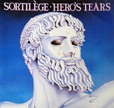 "Thumbnail Of  Sortilège - Hero's Tears ( Heavy Metal, France ) 12"" LP album front cover"