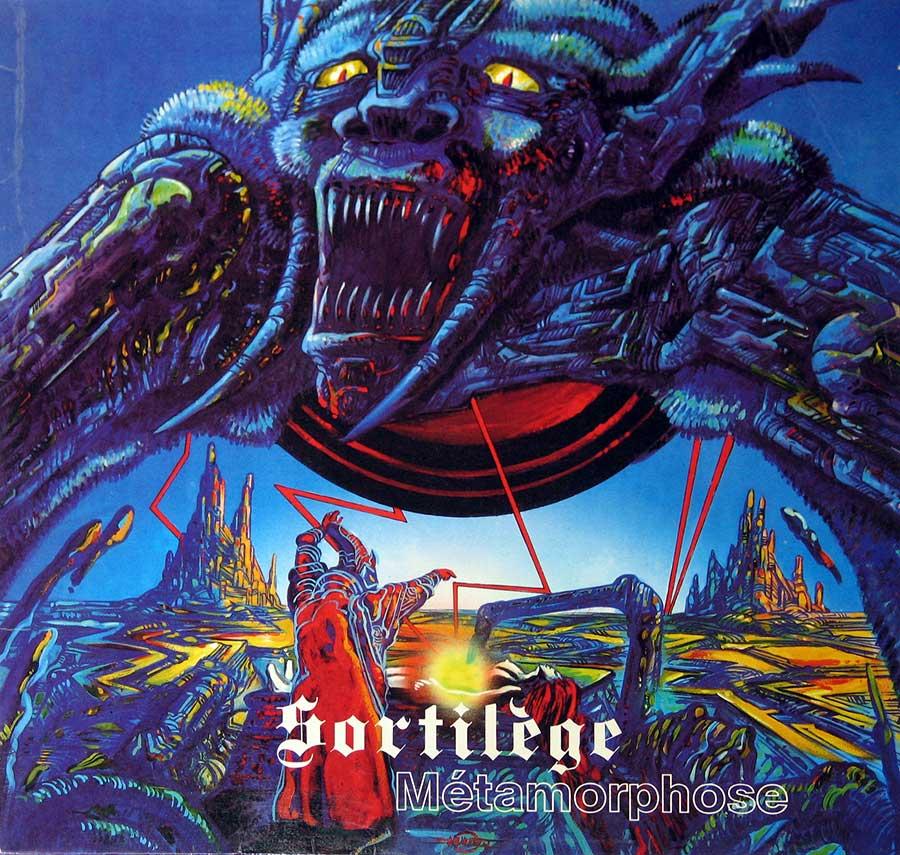 Album Front Cover SORTILÈGE - METAMORPHOSE