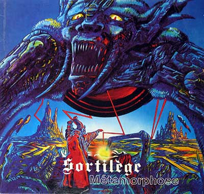 "Thumbnail Of  SORTILÈGE - Metamorphose ( Heavy Metal, France ) 12"" LP album front cover"