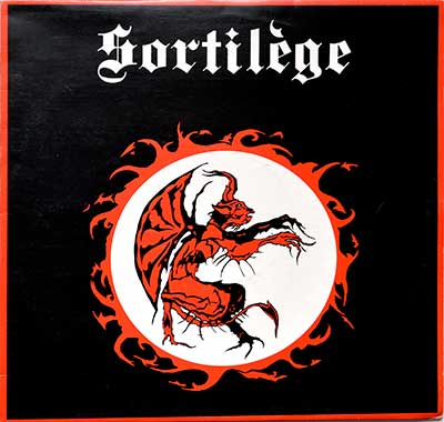 "Thumbnail Of  SORTILÈGE - Self-Titled ( Heavy Metal, France ) 12"" LP album front cover"