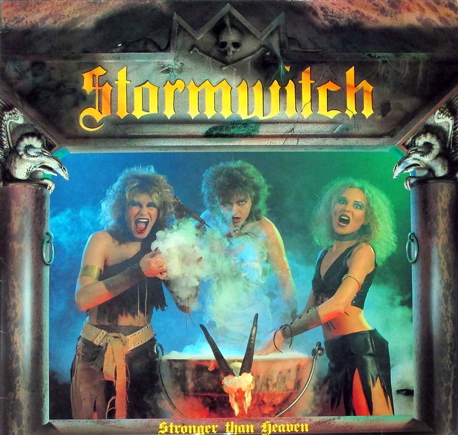 "STORMWITCH - Stronger Than Heaven Genuine France Accord 12"" LP VINYL ALBUM front cover https://vinyl-records.nl"