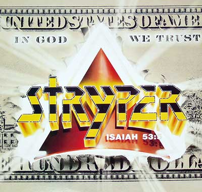 "Thumbnail of STRYPER - In God We Trust 12"" Vinyl LP Album album front cover"