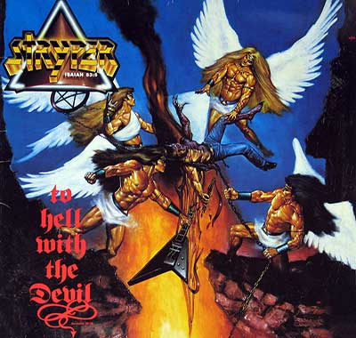 "Thumbnail of STRYPER - To Hell With The Devil 12"" Vinyl LP Album album front cover"
