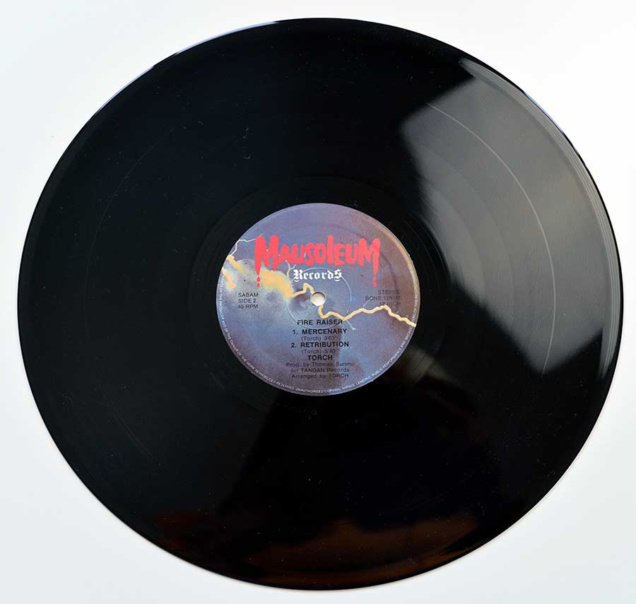 "Photo of ""TORCH Fire Raiser"" 12"" LP Record - Side Two:"