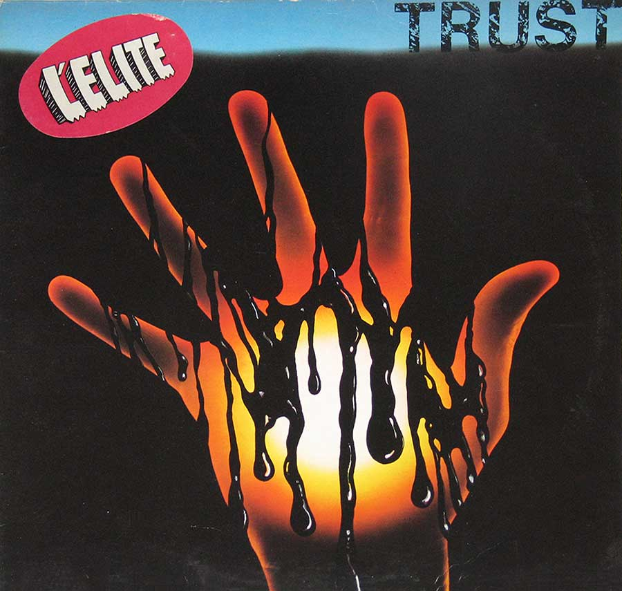 "Photo of ""Trust L'Elite S/T Self-titled"" Album's Front Cover"