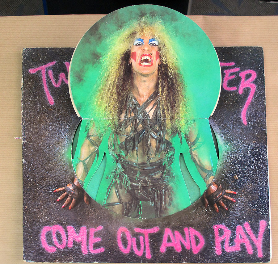 High Resolution Photos of twisted sister come out play gimmick pop-up