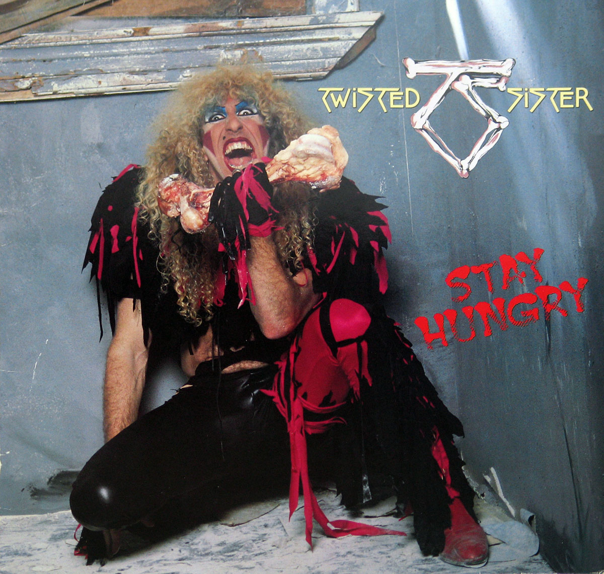 High Resolution Photos of twisted sister stay hungry germany