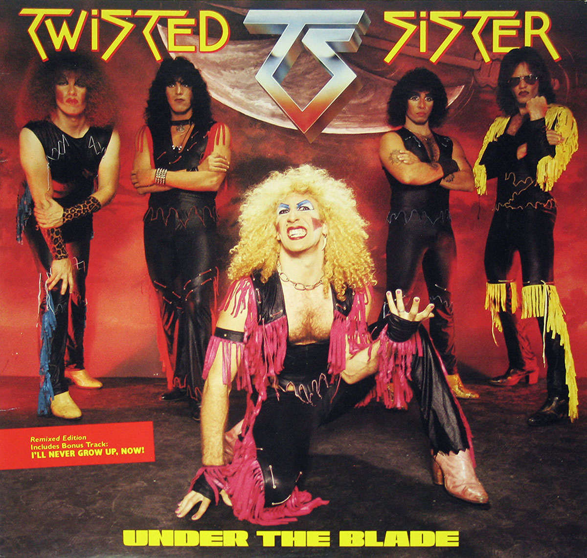 High Resolution Photos of twisted sister under blade canada
