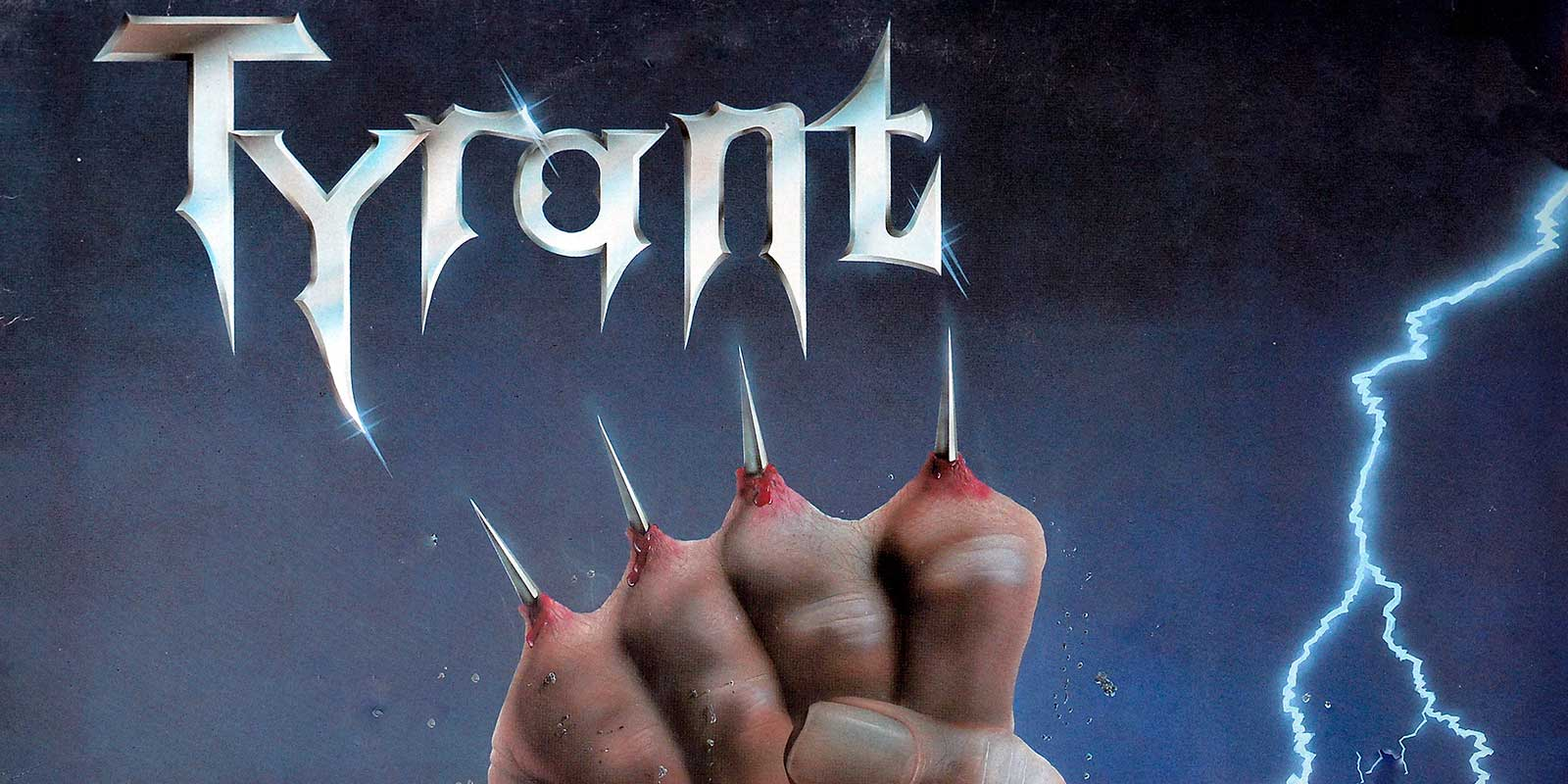 large photo of the album front cover of: TYRANT - Fight for your life SCRATCH Records 12