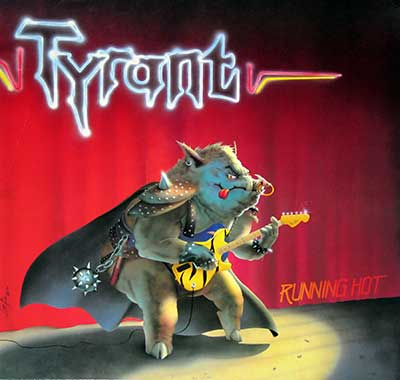 Thumbnail Of  TYRANT - Running Hot album front cover