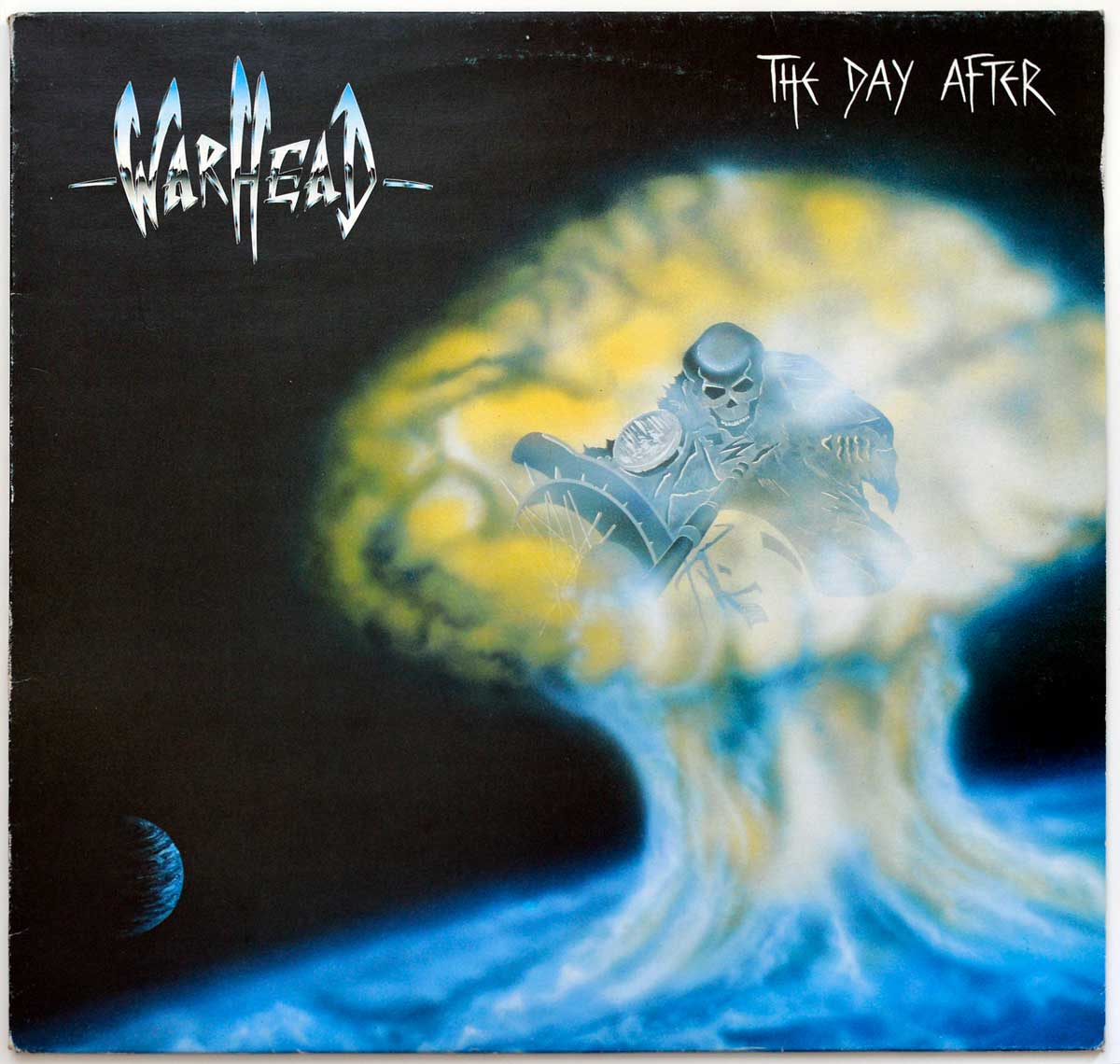 Front Cover Photo Of WARHEAD ( Belgium ) - The Day After