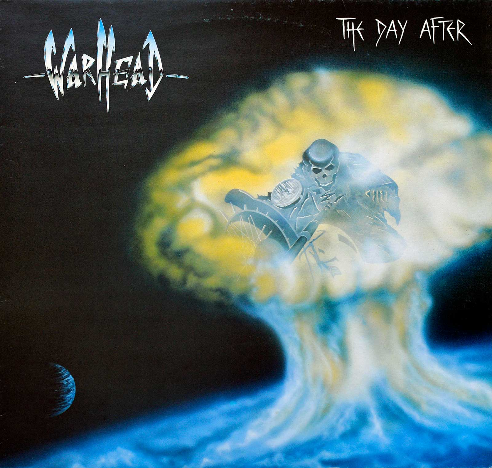 Album Front Cover Photo of WARHEAD ( Belgium ) - The Day After